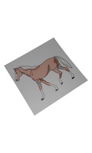Control Card - Horse Puzzle