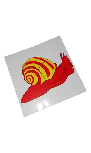 Control Card - Snail Puzzle