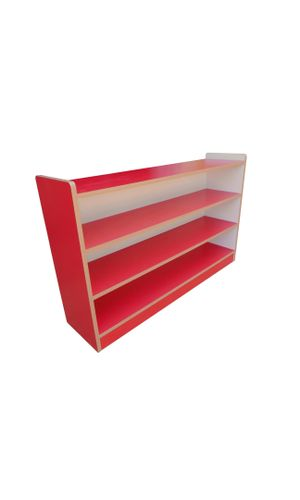 Cabinet Shelf with 3 partitions - one side open
