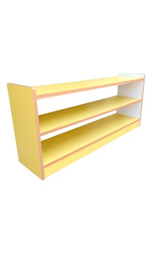 Cabinet Shelf Short with 2 partitions - both sides open