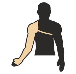 Norma Fullarm Sleeves With Gauntlet Shoulder Straps 107A