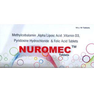 Azzurra Nuromec Tablets 10 Tab X 10 Strips