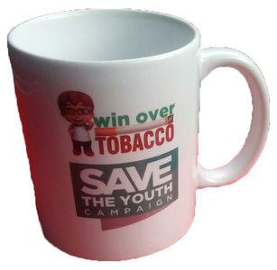 Win Over Tobacco Mugs