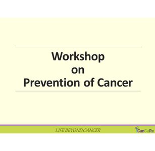 Workshop on WIN OVER Tobacco  - BE CAREFUL NOT FEARFUL