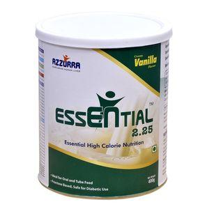 Azzurra Essential 2.25 Vanilla 400gm