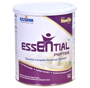 Azzurra Essential Peptide 400gm Vanilla