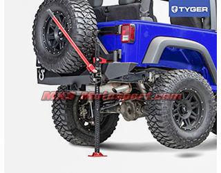 """MXS2434 Off Road Farm Jack 48"""" For Mahindra Thar/Jeep/Suv Car"""
