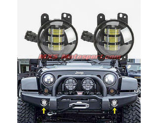 MXS2372 Cree Led Daymaker Fog Lights For Mahindra Thar Jeep