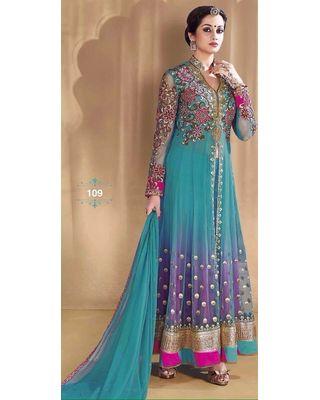 A138 SALWAR.UK  Georgeous Rama Designer Anarkali Partywear Gown