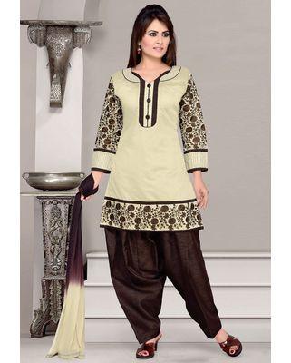 Cotton salwar Set in Black
