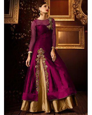 SALWAR.UK Vellora western gown PK501-H