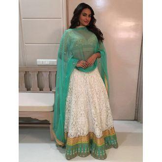 Sonakshi Sinha Style Designer Bollywood Beautiful Lehenga Choli