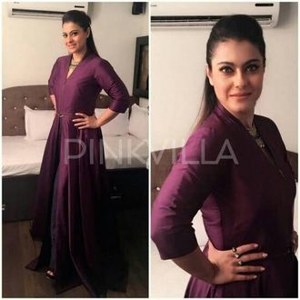 Kajol Anarakali Salwar Suit With Dupatta