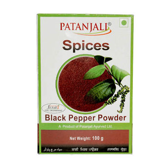 PATANJALI BLACK PEPPER WHOLE 100gm