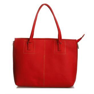 Brantino Red Leather Handbag - MEST164