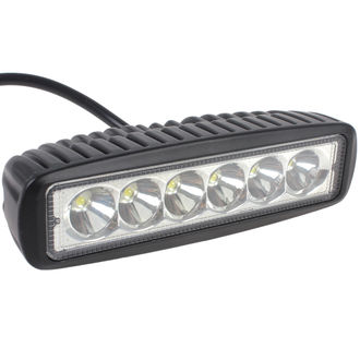 1550LM Mini 6 Inch 18W 6 x 3W CREE Car LED Light Bar as Worklight / Flood Light / Spot Light for Boating / Hunting / Fishing
