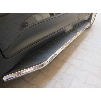 Gear x  TUV 300  side running board foot step BLACK X - chennai