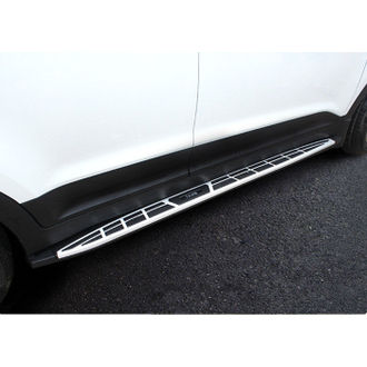 Gear x Hyundai Creta side running board foot step Original type