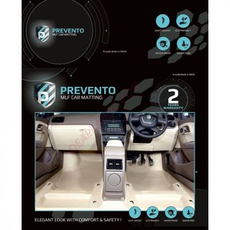 PREVENTO MLF complete 4D  floor matting for VW Vento