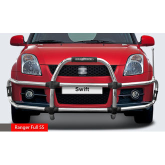 SWIFT Ranger Full SS  High Grade S.S Front Guard with Sturdy and Innovative Design with Judgement Rod. CLASSIQUE
