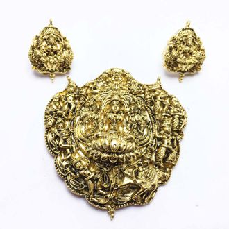 Temple jewellery pendant temple jewellery pendant 1 set aloadofball Gallery