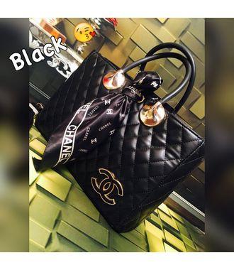 Designer Replica  Handbag (Black) - MEST10360