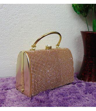 Designer Replica Clutch (Golden) - MEST10606