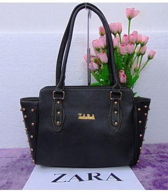 Designer Replica Handbag (Black) - MEST10617