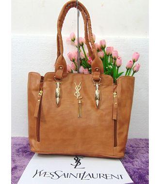 Designer Replica Handbag (Chocolate) - MEST10627