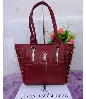 Designer Replica Handbag (Maroon) - MEST10663