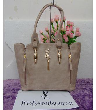 Designer Replica Handbag (Gray) - MEST10695