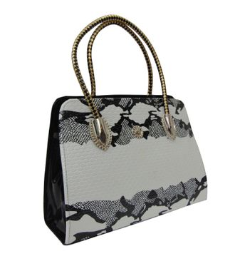 Estoss White Handbag - MEST10796