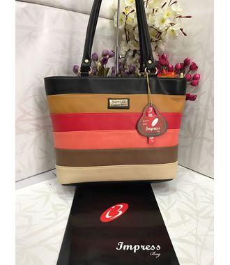Impress  Handbag (Multi) - MEST10965