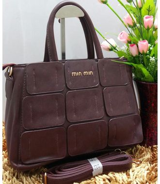 Designer Replica Handbag (Rosy Brown) - MEST11208