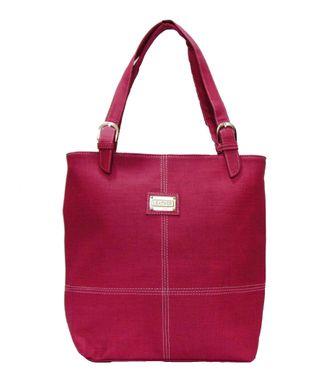 BG Shoppe Pink Shoulder Handbag - HWIT1252