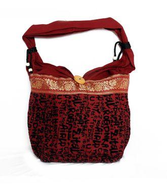 Ethnic Rasa Red Ethnic Handbag - HWIT1404