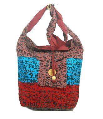 Ethnic Rasa Multicolor Ethnic Handbag - HWIT1415