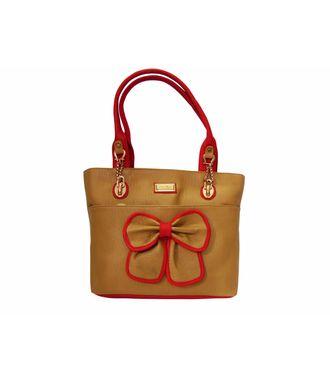 Impress Beige  Handbag - MEST15004