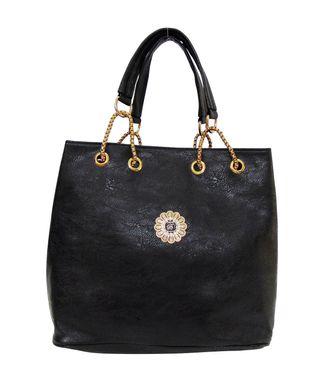 Impress Black  Handbag - MEST15027