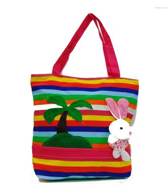 Craft-on-Bags Multicolor Tote Handbag - HWIT2060