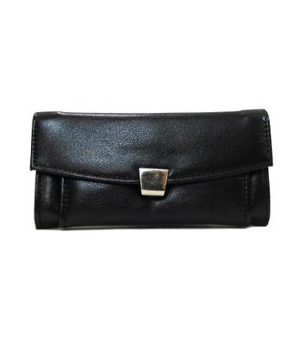 Walletz Brown  Leather Clutch - HWIT2249