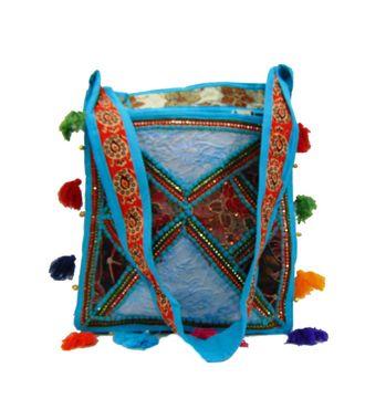 Ethnic Rasa Blue  Ethnic Bag - HWIT2285