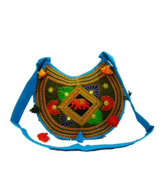 Ethnic Rasa Blue  Ethnic Bag - HWIT2287