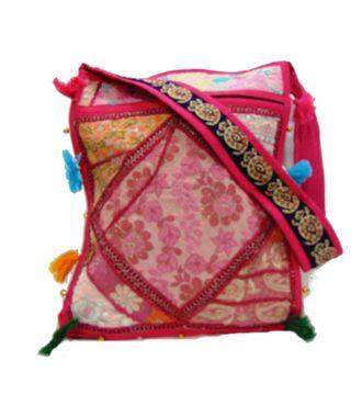 Ethnic Rasa Pink  Ethnic Bag - HWIT2292
