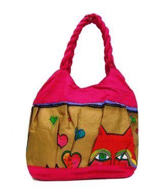 Ethnic Rasa Pink  Ethnic Bag - HWIT2298