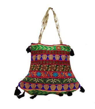 Ethnic Rasa Multicolor  Ethnic Bag - HWIT2300