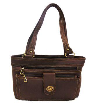 Impress Brown  Handbag - MEST2874