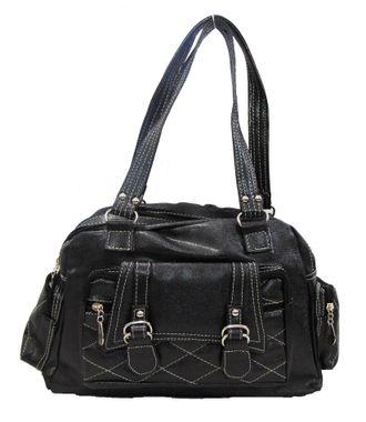Impress Black  Handbag - MEST2885