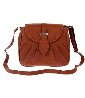 Bagizaa MEST5226 Brown Sling Bag