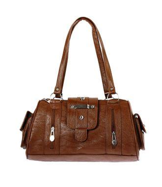 Bagizaa MEST5227 Brown Handbag